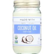 Made With Organic Refined Coconut Oil, 14 Fluid Ounce -- 6 per case