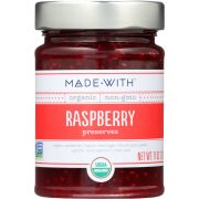 Made With Organic Raspberry Preserve, 11 Ounce -- 6 per case