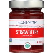 Made With Organic Strawberry Preserve, 11 Ounce -- 6 per case