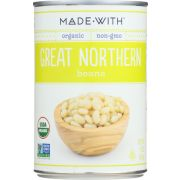 Made With Organic Great Northern Beans, 15 Ounce -- 12 per case