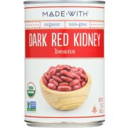 Made With Organic Dark Red Kidney Beans, 15 Ounce -- 12 per case