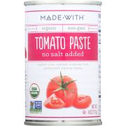Made With Organic Tomato Paste, 6 Ounce -- 24 per case