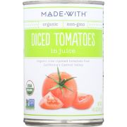 Made With Organic Diced Tomato, 14.5 Ounce -- 12 per case