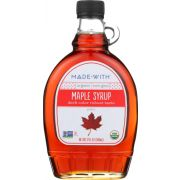Made With Organic Grade A Dark Maple Syrup, 12 Fluid Ounce -- 12 per case
