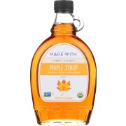Made With Organic Grade A Amber Maple Syrup, 12 Fluid Ounce -- 12 per case