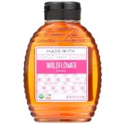 Made With Organic WildFlower Honey, 12 Ounce -- 12 per case