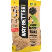 Way Better Snacks Sea Salt With A Hint Of Cracked Pepper Tortilla Chips, 11 Ounce -- 9 per case
