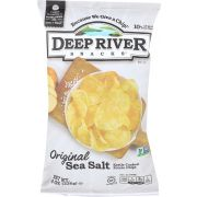 Deep River Original Sea Salt Kettle Cooked Potato Chips, 8 Ounce -- 12 per case