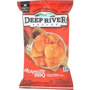 Deep River Mesquite Bbq Kettle Cooked Potato Chips, 8 Ounce -- 12 per case