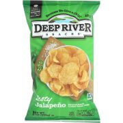 Deep River Zesty Jalapeno Kettle Cooked Potato Chips, 8 Ounce -- 12 per case