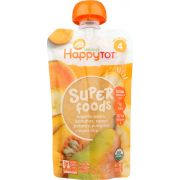 Happy Tot Superfoods Organic Stage 4 Toddler Food, 4.22 Ounce -- 16 per case