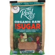 The Real Co Raw Cane Sugar, 16 Ounce -- 6 per case