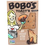 BoBos Oat Bar Chocolate Almond Butter Toaster Pastry, 2.5 Ounce -- 12 per case
