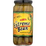 The Extreme Bean Hot N Spicy Pickled Bean, 16 Ounce -- 12 per case