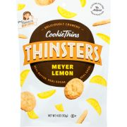 Mrs Thinsters Meyer Lemon Cookie Thins, 4 Ounce -- 12 per case
