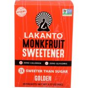 Lakanto Golden Fruit Monkfruit Sweetener Stick, 3.17 Ounce -- 8 per case