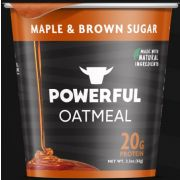 Powerful Maple and Brown Sugar Oatmeal, 2.3 Ounce -- 6 per case
