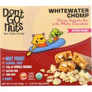 Dont Go Nuts Whitewater Chomp Chewy Granola Bar - Multipack, 6.3 Ounce -- 6 per case