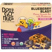Dont Go Nuts Blueberry Blast Chewy Granola Bar - Multipack, 6.3 Ounce -- 6 per case