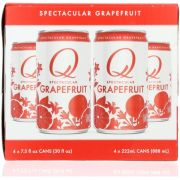Q Tonic Spectacular Grapefruit Soda, 4 count per pack -- 6 per case