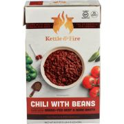 Kettle and Fire Chilli with Beans Grass Fed Beef and Bone Broth, 16.9 Fluid Ounce -- 6 per case
