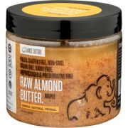 Base Culture Maple Raw Almond Butter, 16 Ounce -- 6 per case