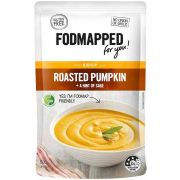 Fodmapped For You Roasted Pumpkin plus Hint of Sage Soup, 17.6 Ounce -- 5 per case