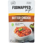Fodmapped For You Butter Chicken Curry Simmer Sauce, 7 Ounce -- 6 per case