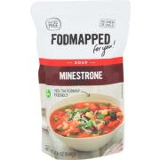 Fodmapped For You Minestrone Soup, 17.6 Ounce -- 5 per case