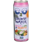 C2O Coconut Water with Ginger Lime and Turmeric, 17.5 Fluid Ounce -- 12 per case