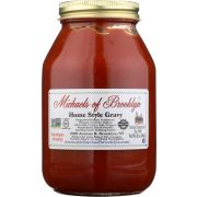 Michaels of Brooklyn Gluten Free Home Style Gravy Pasta Sauce, 32 Ounce -- 6 per case