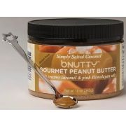 B Nutty Simply Salted Caramel Peanut Butter, 12 Ounce -- 6 per case