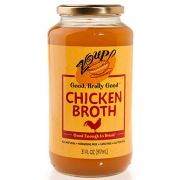 Zoup Good Really Chicken Broth, 31 Ounce -- 6 per case