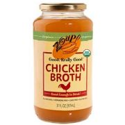 Zoup Good Really Organic Chicken Broth, 31 Ounce -- 6 per case