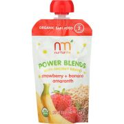 Nurturme Baby Strawberry Banana Amaranth Power Blend, 3.5 Ounce -- 6 per case
