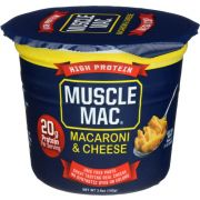 Muscle Mac High Protein Microwave Mac and Cheese, 3.6 Ounce -- 12 per case