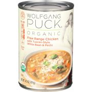 Wolfgang Puck Free Range Chicken with Tuscan Style White Bean and Pesto Soup, 14.5 Ounce -- 12 per case