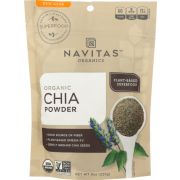 Navitas Naturals Organic Chia Seed Sprouted Powder, 8 Ounce -- 1 each