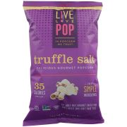 Live Love Pop Truffle Salt Gourmet Popcorn, 4.4 Ounce -- 12 per case