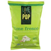 Live Love Pop Lime Fresco Popcorn, 4.4 Ounce -- 12 per case