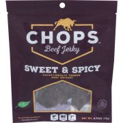 Chops Sweet and Spicy Beef Jerky, 2.75 Ounce -- 8 per case