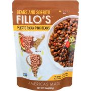 Fillos Puerto Rican Pink Beans and Sofrito, 10 Ounce -- 6 per case