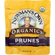 Newmans Own Organic Pitted Prunes, 6 Ounce Zip Bag -- 12 per case