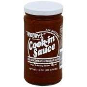 Woodys Cook-in Sauce, 13 Ounce -- 6 per case