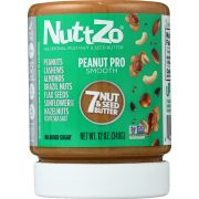 Nuttzo Peanut Pro Multi Nut and Seed Butter, 12 Ounce -- 6 per case