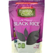 Natures Earthly Choice Black Rice, 14 Ounce -- 6 per case
