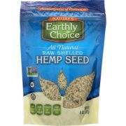 Natures Earthly Choice Raw Shelled Hemp Seed, 8 Ounce -- 6 per case