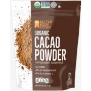 Better Body Foods Organic Cacao Powder, 16 Ounce -- 4 per case