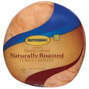 Butterball Just Perfect Hand Crafted Naturally Roasted Turkey Breast, 8 Pound -- 2 per case.