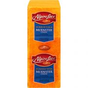 Land O Lakes Alpine Lace Muenster Cheese Loaf, 6 Pound -- 2 per case.